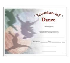 Dance certificate templates pinterest certificate dancers and dance certificate jones school supply yelopaper Images