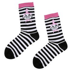 Muumi Naisten sukat, Pikku Myy&raidat musta/valk.koko 39-41 - 5.90 €