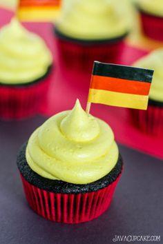 Germany Cupcakes - JavaCupcake