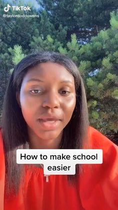 Make School, Life Hacks For School, Girl Life Hacks, School Tips, Girls Life, After School Routine, School Routines, Girl Advice, Girl Tips