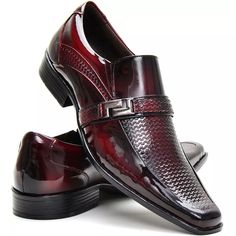 923d6ab655 Sapato Social Couro Envernizado Masculino Stilo Italiano - R$ 154,77 em  Mercado Livre