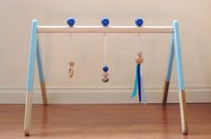 MAKE THIS MYSELF - DIY!   Baby Play Gym CUSTOM COLOR LISTING you choose the color - Baby Activity Gym - Wood Play Gym - Baby Toy