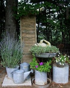 Tips for good Flea Market garden design