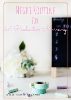 Morning routines are crucial for successful goal chasing, but did you ever put thought into your night routine? Your night routine is going to distinguish whether or not your have a productive morning routine or not. Make sure you have your night routine under the belt before moving onto your morning routine!