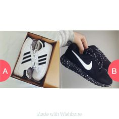 Adidas or Nike? Click here to vote @ http://getwishboneapp.com/share/2098292