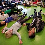 "Young children at the Blue School learn about  ""the amygdala hijack"" — what happens to their brains when they flip out. Teachers try to get children into a ""toward state,"" in which they are open to new ideas. Periods of reflection are built into the day for students and teachers alike, because reflection helps executive function — the ability to process information in an orderly way, focus on tasks and exhibit self-control."