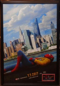 Sony and Marvel have released the first Spider-Man: Homecoming poster; the film stars Tom Holland, Robert Downey Jr., Marissa Tomei, and Michael Keaton. Michael Keaton, Marvel Dc Comics, Films Marvel, Spiderman Marvel, Mcu Marvel, Spiderman Home, Spiderman Classic, Spiderman Poster, Thanos Avengers