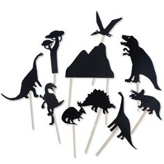 Moulin Roty Dinosaur Shadow Puppets