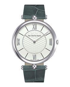 Pierre Arpels White Gold Watch, 38mm, Women's - Van Cleef & Arpels