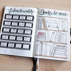 Your bullet journal ideas can be used for so much more than just keeping track of your to do list. Get inspired by these bullet journal spreads you need to try in this year! Bullet Journal Tracker, Bullet Journal Inspo, Bullet Journal Page, Bullet Journal Notebook, Journal Pages, Journal Ideas, Books To Read Bullet Journal, Bullet Journal Essential Pages, Blog Planner
