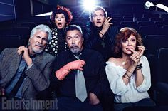 The cast of 'The Rocky Horror Picture Show' took a 40th anniversary reunion photo.   Movies   Someecards