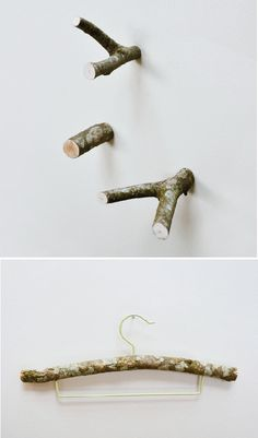 I really love these. How to make & install my own is what I'm wondering... branch hooks | THE STYLE FILES