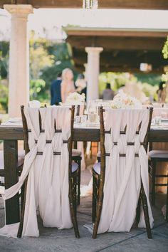 woven chair backs, photo by Dave Richards http://ruffledblog.com/west-hills-california-wedding #weddingideas #reception