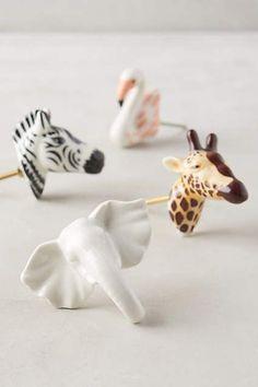 ceramic safari knobs