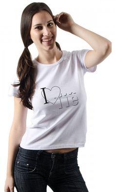 Camiseta Tiê I Love Tiê por apenas R$38.90