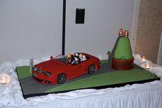 BMW convertible cake!
