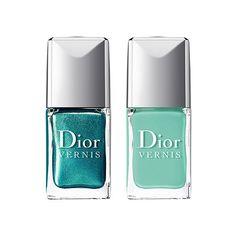 Dior Nail Polish, Dior Nails, Nail Polish Trends, Nail Polishes, Dior Beauty, Beauty Nails, Dior Makeup, Eye Makeup, Paradise Nails