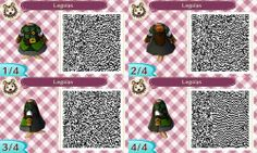 Animal Crossing: New Leaf: Legolas Outfit (Lord of the Rings) QR Code for Animal Crossing: New Leaf