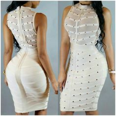 See photos, tips, similar places specials, and more at Glamour Setters Boutique Club Dresses, Curves, High Neck Dress, Bodycon Dress, Glamour, Boutique, Black, Design, Fashion