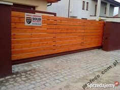 Brama przesuwna samonośna na wymiar deski metal Ostrów Wielkopolski