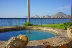 Beachfront hot tub at Villa La Estancia Los Cabos.  #Cabo #CaboSanLucas #Mexico #resorts #CaboResorts #LosCabos #FindYourCabo #Travel