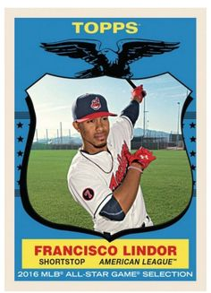 2016 1959 Topps Now #TBT Week 5 Card # 26 Lindor Francisco Throwback Thursday #ClevelandIndians