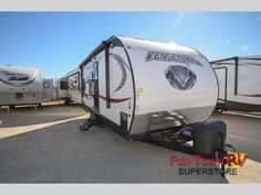 New 2015 Forest River RV Vengeance 19V Toy Hauler Travel Trailer at Fun Town RV | San Angelo, TX | #A21743