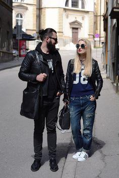 www.shush-mush.com Punk, Street Style, Urban Taste, Street Styles, Punk Rock, Street Chic, Fashion Street Styles