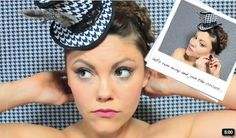 Video tutorial! mini top hat.  @Emily 'Pyle' Green  we should make some of these for some of your shoots!