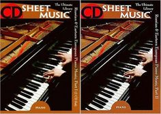 Russian & Eastern European Piano Music Parts I, II (Piano Solo) by CD Sheet Music (Repost)