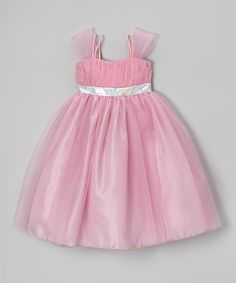 Take a look at this Pink Sequin Babydoll Dress - Girls by Princess Diaries on #zulily today!