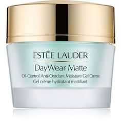 Estee Lauder DayWear Matte Oil-Control Anti-Oxidant Moisture Gel... ($54) ❤ liked on Polyvore featuring beauty products, skincare, face care, face moisturizers, no color, estée lauder, gel face moisturizer, estee lauder face moisturizer and face moisturizer