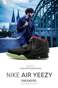 58db959cc95 Buy mens size Nike Air Yeezy NRG Black shoes