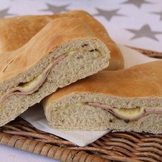 Ost og skinke brød