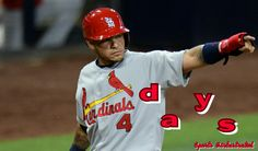 Yadier Molina days until pitchers and catchers report to spring training!