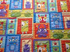 Googlie Monster Quilt
