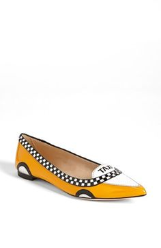 In case you were hoping the Taxi flats are back !!!! kate spade new york 'go' flat available at #Nordstrom