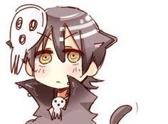 kid as a cat ^3^ <333