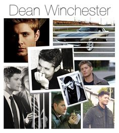 """""""Day 1: Sam or Dean?"""" by parisinblackandwhite ❤ liked on Polyvore featuring Post-It"""