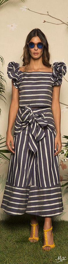 Resort 2017 Johanna Ortiz Resort 2017, Striped Fabrics, Queen Bees, Warm Weather, Casual Chic, Ruffles, Beautiful Dresses, Ready To Wear, Bb