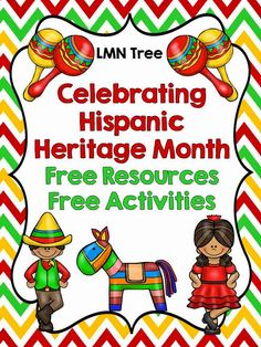 LMN Tree: Great Free Resources to Help Celebrate Hispanic Heritage Month Hispanic History Month, Hispanic Culture, Hispanic Heritage Month, Hispanic Art, Spanish Heritage, Mexican Heritage, Spanish Activities, Learning Spanish, Multicultural Activities