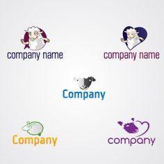 Lovely Sheeps Logo Pack