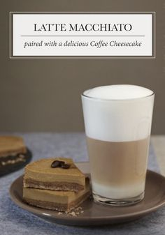 A gathering of friends calls for this Latte Macchiato recipe paired with a delicious Coffee Cheesecake. All of your party guests are sure to appreciate the bold and classic flavors.