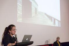 Amica Dall degli Assemble sul palco della Film Commission Torino Piemonte per il ciclo Looking Around. © Edoardo Piva