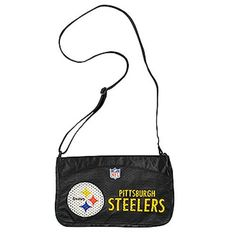 NFL Pittsburgh Steelers Jersey Mini Purse by Little Earth. $17.50. Save 13% Off!