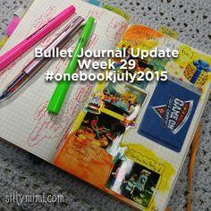 July 2015 Bullet Journal Update: Week 29 #onebookjuly2015