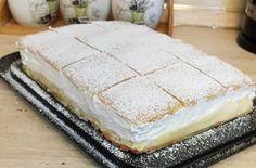 Mindig nyerő ötlet Szebb mint a cukrászatokban. Hungarian Desserts, Hungarian Recipes, Cookie Recipes, Dessert Recipes, Non Plus Ultra, Cold Desserts, Something Sweet, Diy Food, Vanilla Cake