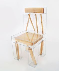 Student project: Exploded Chair by Joyce Lin - Esprit Design Furniture - Design