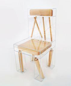 Quero: cadeira desmembrada de Joyve Lin | IdeaFixa