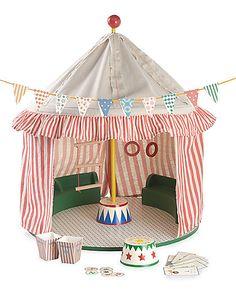 big top circus tent $138 - seems easy to make
